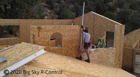 Trinity Building Systems prefab uses Big Sky R-Control SIPs to help you save time and money.