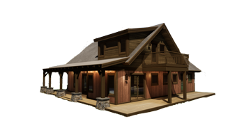 Trinity Building Systems - Parkrose Cabin - No Background