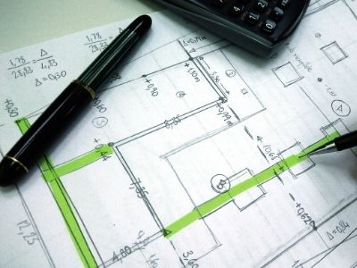 Trinity Building Systems structural engineering of floor plans.