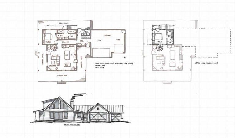 Trinity Building Systems - Design Process - Parkrose sketch