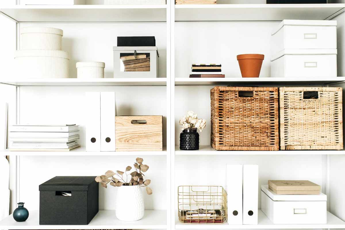 Designing a home office for maximum storage