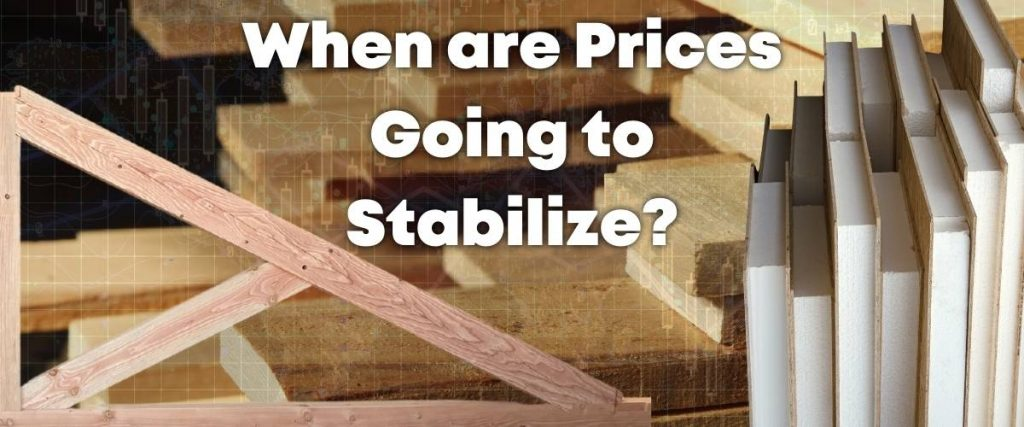 When is the price of lumber expected to drop?